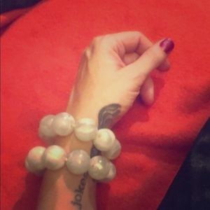 Marble elastic bracelets